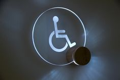 LED Toilet lighting sign – Masahiro Minami Design