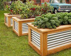 Herb Stand Plan/Plant Stand Plan/Herb Planter Plan/Raised | Etsy Raised Garden Planters, Raised Planter Boxes, Cedar Raised Garden Beds, Building Raised Garden Beds, Cedar Planters, Raised Beds, Planter Beds, Tiered Garden, Garden Pond