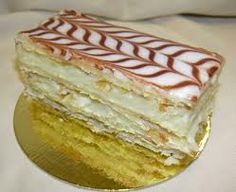 "Mille Feuille or commonly called a ""Napoleon"" in the US"