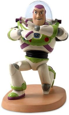 WDCC Disney Classics Toy Story Buzz Light Year Space Ranger #WDCCDisneyClassics #Art. Helmet: Glass. Legs: Pewter.Retired 06/09.