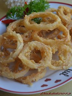 Diah Didi's Kitchen: Crispy Onion Ring