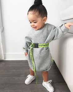 US Kids Baby Girl Clothes Long Sleeve Tops Warm Outfit Dress louse Pullover Kids Winter Fashion, Kids Fashion, Fashion Fashion, Dress Fashion, Fashion Dolls, Toddler Dress, Toddler Outfits, Baby Outfits, Summer Outfits