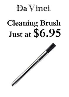 Buy cleaning brush just at $6.95. The DaVinci comes with a cleaning brush, but if you need an extra or have misplaced your original one, pick one up today. For more DaVinci Vaporizer Coupon Codes visit: http://www.couponcutcode.com/coupons/cleaning-brush-just-6-95/