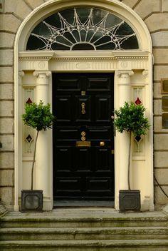 Another stunning Georgian door - great pic! #lovedublin :)