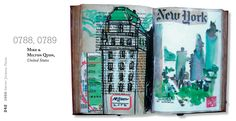 1000 Artist Journal Pages