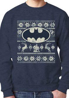 Gamer heaven - Batman Official Christmas Sweater, £29.99 (http://www.gamer-heaven.net/batman-official-christmas-sweater/)