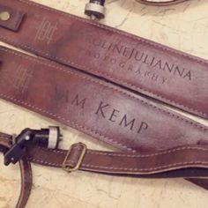 """""""Be smart & let your leather camera strap do the talking. Make your mark with KAWA Pro Strap custom engraving. Its all about branding! Email us on how to…"""""""