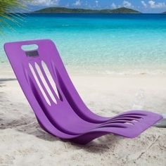 Just in time to piss off The Naughty Chair This Curvy Chair  has the nerve to get a better spot and all the attention on the beach