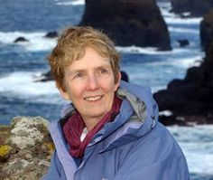 Ann Cleeves writes murder mysteries set in the Shetland Islands