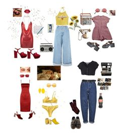 """CLAIRE"" by glittergal95 on Polyvore featuring D&G, Rosetta Getty, Gucci, Mociun, Wet Seal, Steve Madden, Topshop, Pier 1 Imports, Yves Saint Laurent and Boutique"