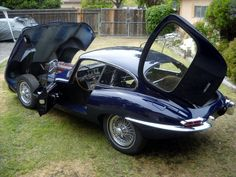 1963 Jaguar E Type XKE Coupe Rust Free CA Car in Storage for 29 Years | eBay