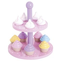 Cupcake and Meringue Stand Set, Stocking Fillers, Toys and Gifts, Christmas