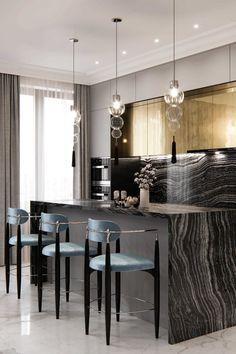 Rustic Kitchen Design, Luxury Kitchen Design, Luxury Kitchens, Interior Design Kitchen, Home Design, Kitchen Designs, Dream Kitchens, Small Kitchens, Design Design
