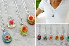 Floral Necklaces  Time for floral necklaces....  53% OFF