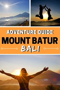 Mount Batur Sunrise Hike - Bali, Indonesia. Find out tips, how to buy tickets and all the photos you could need to plan your adventure to Mount Batur in Bali. https://www.wanderlustchloe.com/mount-batur-sunrise-hike-bali/