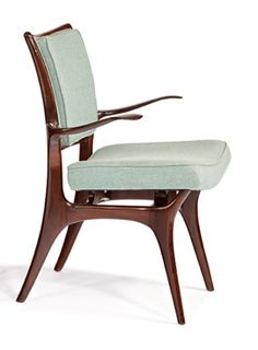 Vladimir Kagan; Arm Chair for Kagan-Dreyfuss, c1952.