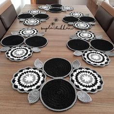 VK is the largest European social network with more than 100 million active users. Crochet Granny, Crochet Motif, Diy Crochet, Crochet Patterns, Crochet Table Mat, Crochet Table Runner Pattern, Granny Square Tutorial, Doilies, Cross Stitch