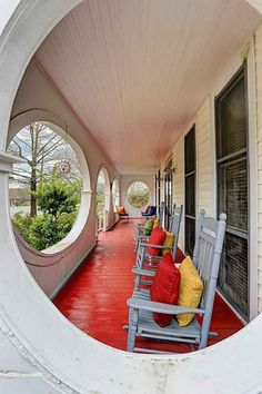 Amazing porch--for sale in TX