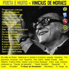 O Blog do JF: Biografia de Vinicius de Moraes - Poeta brasileiro