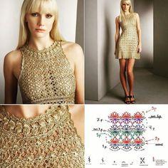 vestido de croche branco reveillon - Pesquisa Google