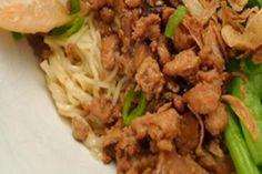 Resep Mie Ayam Jamur | Resep Cara Membuat Masakan Enak