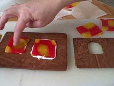 How to melt candy to make windows for a gingerbread house