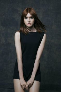 "Karen Gillan (Born: Karen Sheila Gillan - November 1987 - Inverness, Highland, Scotland, UK) as Amelia ""Amy"" Pond Karen Gillan, Karen Sheila Gillan, Beautiful Redhead, Inverness, Beautiful Actresses, Girl Crushes, Redheads, Portraits, Hollywood"