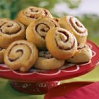 What to do with leftover cranberry sauce? Cranberry Cream Cheese Pinwheels sound great!