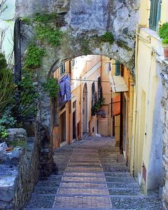 Republic of San Marino, I wandered many slanted streets as a child!