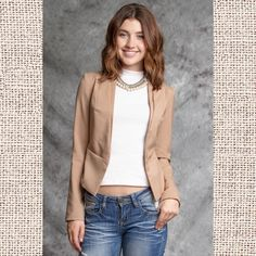 6db580f5a052e1 Ya Long Sleeve Blazer : King Frog Clothing & The Lilypad Boutique