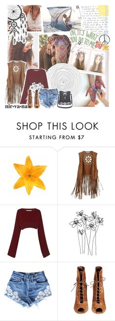 """""""i don't care where i ride, i'll let my feet decide"""" by roxymarie ❤ liked on Polyvore featuring Clips, Marni and Gianvito Rossi"""