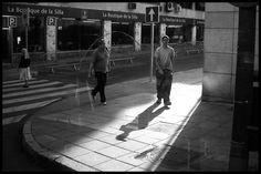 Por la calle de Alcalá. 5 de octubre de 2.009 a 10:54h.