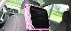 How to Sew an iPad Case for the Car! Try to copy this w/o having to buy the template and so many materials.