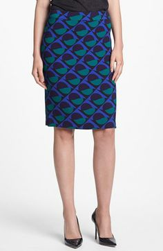MARC BY MARC JACOBS 'Etta' Print Pencil Skirt | Nordstrom