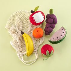 The Land of Nod | Felt Fruit in Kitchen & Grocery