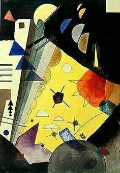 'Tension en Hauteur' - Wassily Kandinsky.