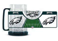 Philadelphia Eagles Crystal Freezer Mug