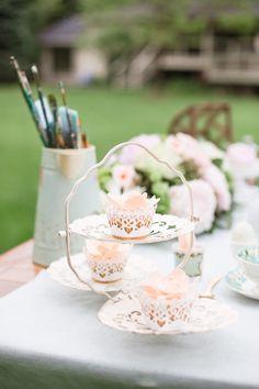 Watercolor Garden Wedding Inspiration - Style Me Pretty