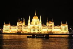 Budapest, Hungary - amazing from a night Danube cruise Budapest Hungary, What To Pack, Dream Vacations, Interior Architecture, Places Ive Been, Stuff To Do, Cruise, To Go, Around The Worlds