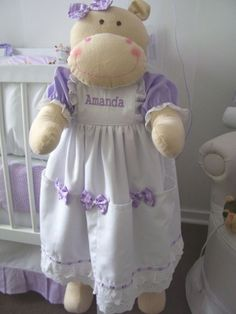 Porta fraldas Hipopótamo Enchimento com fibra de silicone antialérgica. Tecido 100% algodão,diversas cores e estampas R$ 120,00
