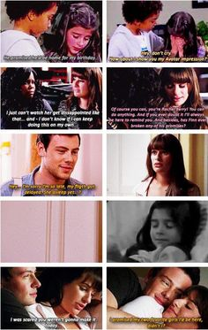 God I wish this could've happened. I also love how it's samcedes kid comforting finchels kid