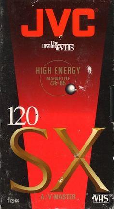 Pro HiFi 120 Editing Master Blank VHS Tape Magnetite Os=85 JVC High Energy