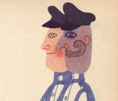 Illustrations by Hana Stepanova for Florentina by James Kruss (Prague, Book Illustration, Illustrations, Hana, Prague, Surrealism, Childrens Books, Book Art, Weird, Animation