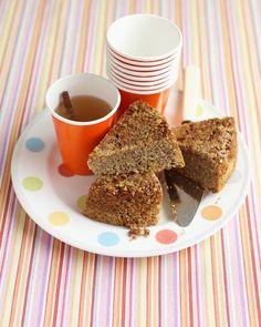 Upside-Down Pecan Cake Recipe