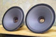 Atelier Rullit - LAB 16 - wide range field coil speakers.  Someday.