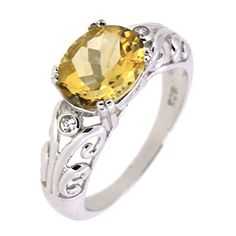 Filigree Sterling Silver Natural Oval Citrine Ring ( 2 2/5 CT) BL Jewelry http://www.amazon.com/dp/B00JGX4TYU/ref=cm_sw_r_pi_dp_YfXDub1AYV8CK