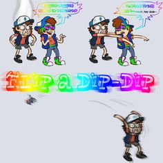 flip a dip dip dipper gravity falls Gravity Falls Funny, Gravity Falls Fan Art, Gravity Falls Bill Cipher, Gravity Falls Comics, Dipper And Mabel, Dipper Pines, Dippy Fresh, Fall Memes, Raise The Dead