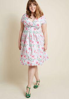 7312ef132f7b7 Hell Bunny Blossom Toss-Up Midi Dress Plus Size Fashion Dresses
