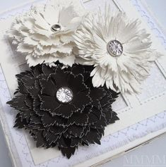 Leather Flower examples and templates.