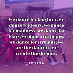 Lets create more dreams through dancing. Keep Dancing 💃🌟 ⚋⚋⚋⚋⚋⚋⚋⚋⚋⚋⚋ #petitafrotv #petitafro #dancequotes #dancepiration #dancelovers #afrodance #afrobeat #dancetotheworld #worldofdance #afrodancers #dancewithpetitafro #chopdailykids #afrohouse #viralvideos #afroPop  #nwe #chopdaily #afrodancehall #gaintrick